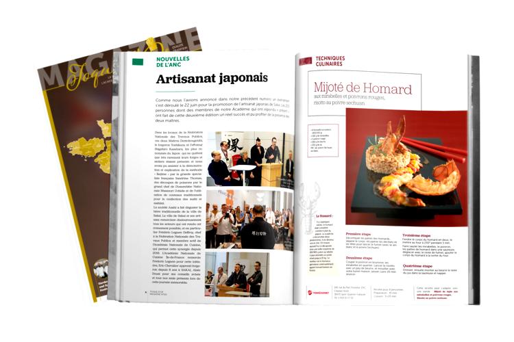 Mockup magazine oui l'agence de communication à Rouen