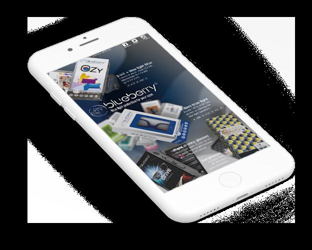 Mockup d'un smartphone qui contient une infographie.