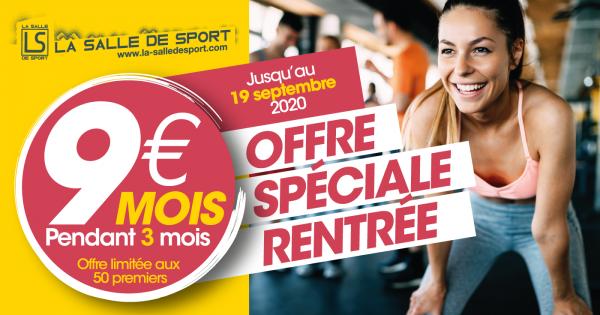 Offre Spéciale rentrée La Salle de Sport