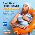 Assiette de Fruits de Mer par Le Terre-Neuvas à Rouen