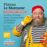 Plateau de Fruits de Mer Le Mareyeur by Le Terre-Neuvas