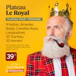 Plateaux de Fruits de Mer Le royal par Le Terre-Neuvas à Rouen